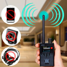 PRO RF SPY BUG DETECTOR FREQUENCY SCANNER SWEEPER GSM CDMA GPS TRACKER SIGNAL