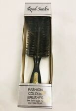 New & Vintage! Royal Sweden Half Round Styler Wild Boar Bristle & Nylon