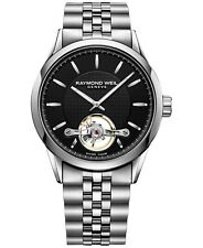 New Raymond Weil Freeelancer Stainless Steel Mens Watch 2780-ST-20001