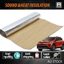 2.5M x 1M Sound Deadener Heat Shield Car 4WD Firewall Door Hood Protector Foam