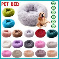 Haustier Hund Katze Beruhigend Bett Rund Nest Warm Weich Plüsch Komfortable Tief
