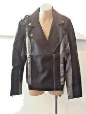 BNWT Evil Twin Jacket With Silver Metallic Panels  Sz M 10-12 $139