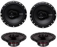 4) New Rockford Fosgate R165X3 6.5 90W 3 Way Car Audio Coaxial Speakers Stereo