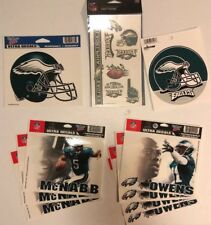 NFL Philadelphia Eagles Football 17 Piece Stickers (9) Temp Tattoos (8) - NEW!!!