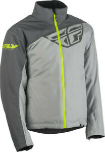 Fly Racing 2020 Snow Adult Aurora Snowmobile Jacket Charcoal/Grey All Sizes
