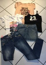 LOT FILLE 14.16 ANS JUPE JEAN DKNY JEAN SKINNY DAYSIE TOP PEPE JEANS  ROXY  ETC