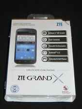 "Brand New Sealed ZTE Grand X Z933 Unlocked GSM 5"" 4GB White Android Smartphone"