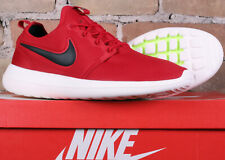 New Nike Roshe Two Gym Red Black Sail Running Shoes 844656 600 Size 12.5 - RUN