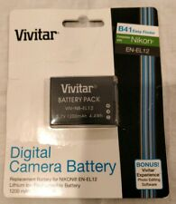 Digital Camera Battery fits Nikon EN-EL12 - Vivitar VIV-NB-EL12