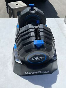 NordicTrack Speed Weight Adjustable Dumbbell 10 to 55 lb. Weight Increments*