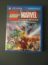 CONSOLE SONY PS VITA PLAYSTATION JEU LEGO MARVEL SUPER HEROES