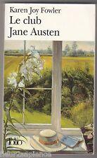 Le club Jane Austen Karen Joy Fowler