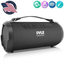 Pyle PBMSPG1BK  200 Watt Rechargeable Wireless Portable Bluetooth Boombox Speake