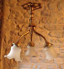 Vintage French Ceiling Light / Chandelier
