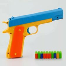Toy Guns Pistol Classic Gun M1911 Pistols Soft Bullets Darts Plastic Kids Toy