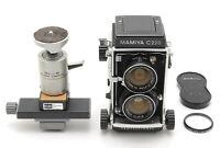 【N MINT+++】Mamiya C220 Pro TLR Film Camera 55mm f/4.5 Lens SL-5 From JAPAN