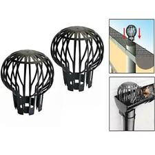 More details for leaf debris drain pipe trap guard filter cover down pipe roof gutter block clogg