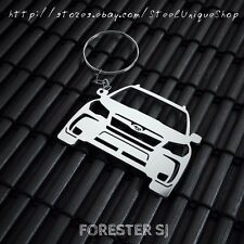 Subaru Forester SJ Stainless Steel Keychain