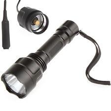 C8 CREE XML T6 LED 5-Mode 1000Lm Flashlight Torch Light + Pressure Switch