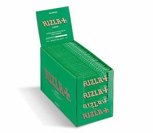 Original Rizla Green Standard Regular Cigarette Rolling Papers 50 booklets