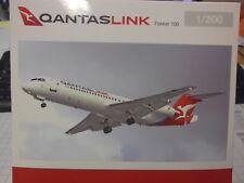 Herpa 1:200 559096 Qantaslink Fokker 100 NOUVEAU neuf dans sa boîte