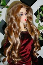 "Doll Wig, Monique Gold ""Taylor"" Size 5/6 in Golden Glaze"