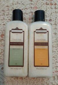 Melaleuca Liquid Soaps Antibacterial 8 oz Mint Scent & Citrus Scent NEW Sealed