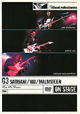 G3 - Live in Denver DVD Yngwie Malmsteen, Joe Satriani, Steve Vai NEW SEALED