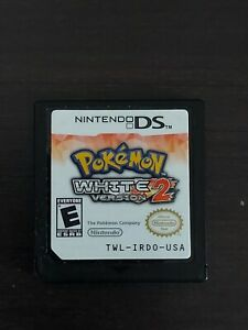 Pokemon: White Version 2 (Nintendo DS, 2012) Authentic & Tested Cartridge Only
