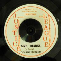 "NEW 7"" Delroy Butler - Give Thanks  /  Horsemouth - Herb Vendor"