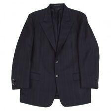 Yohji Yamamoto COSTUME D'HOMME Stripe Wool Jacket Size S(K-44385)