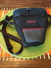 Pentax Black & Gray Camera Bag That Will Fit Small DSLR/Mirrorless Camera.