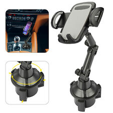 New listing New 360° Universal Cell Phone Gps Car Cup Mount Holder Upgraded Adjustable Base