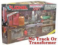 Lionel 6-11708 Midnight Shift Loco (DC) & Cars ONLY (Not The Set) 1988 C9+