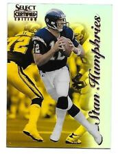 1996 Select Certified Stan Humphries Mirror Gold Chargers