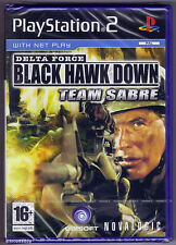 PS2 Delta Force Black Hawk Down Team Sabre, UK Pal, New & Sony Factory Sealed