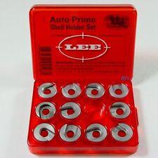 Lee Auto Prime Hand Priming Tool Shell Holder Set, 11 Shell Holders  Lee 90198