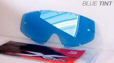 EKS Brand BLUE Single Pane GOX Replacement Goggle Lens 067-40200