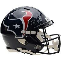 DESHAUN WATSON Autographed Texans Authentic Speed Helmet FANATICS