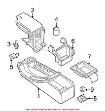 For BMW Genuine Console Armrest 51168213628