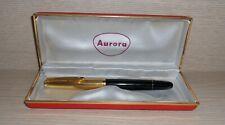AURORA 88P PENNA STILOGRAFICA FOUNTAIN PEN GOLD ORO 12K VINTAGE '60 CUSTODIA BOX