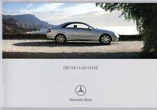 Mercedes-Benz CLK Coupe 2004-05 UK Market Sales Brochure 200 240 270 320 500