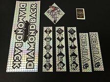 Diamondback Viper Decals Sticker Set Suit Your Old School BMX Black