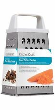 KitchenCraft Stainless Steel 14cm Four Sided Box Grater