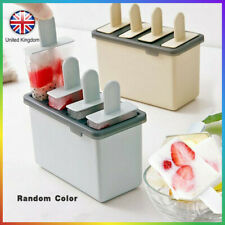 Frozen Ice Cream Mold Popsicle Maker Lolly Mould Pan Ice Cream Cube Summuer Kit