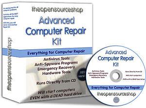 FIX & Repair Windows CD 210 Recovery Rescue Repair Programs Bootable Startup CD