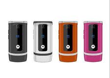 Original Motorola W375 2G GSM Teléfono Celular con Tapa 1.8 en colores Cámara FM Radio