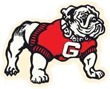 University of Georgia  UGA  College Vintage Looking Bulldog Travel Decal Sticker