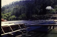 35mm Colour Slide- Woronora Bridge under Construction 19  NSW , Australia 1970's