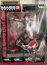 NEW Kotobukiya Bishoujo Commander Shepard Mass Effect PVC Statue Red Hair